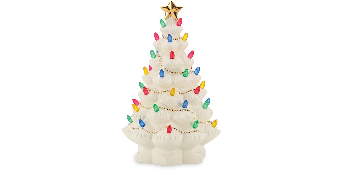 Those Ceramic Christmas Trees Just Like Grandma's Are Officially Back (and We Found One for 50% Off)
