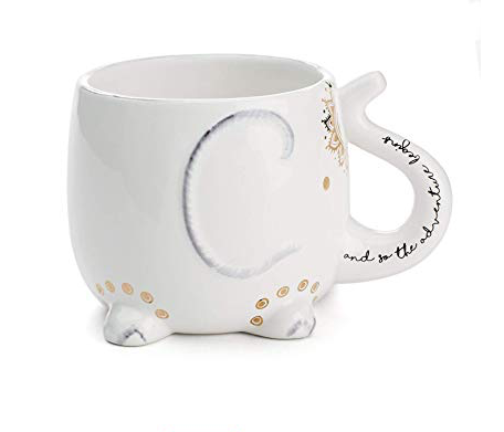 White Elephant Ceramic Mug