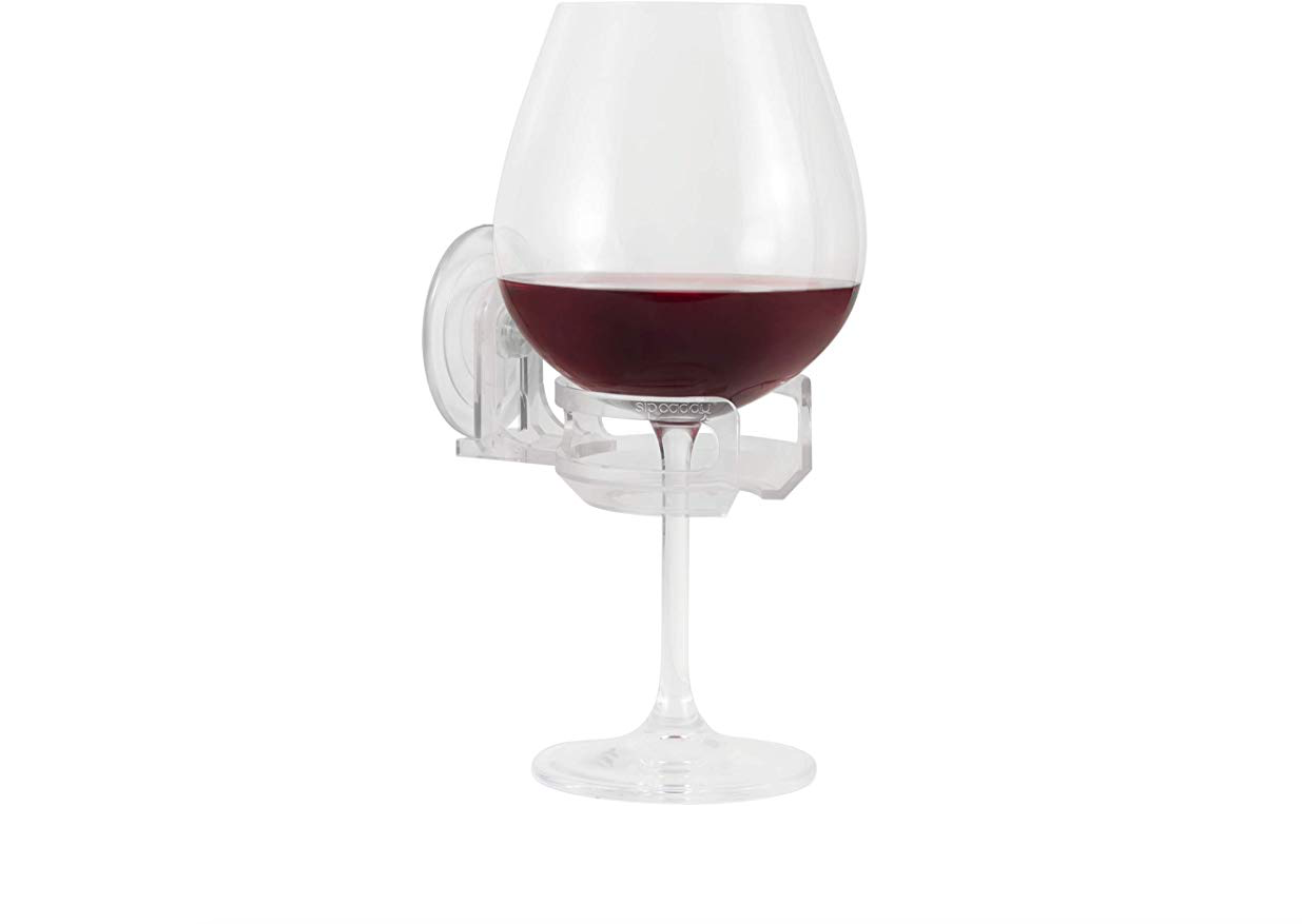 Shower Wine Glass Holder