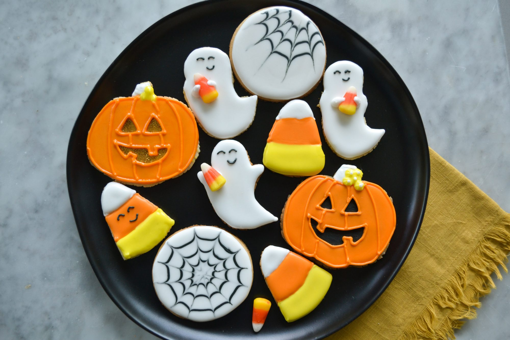 Hallowen Decorated Cookies