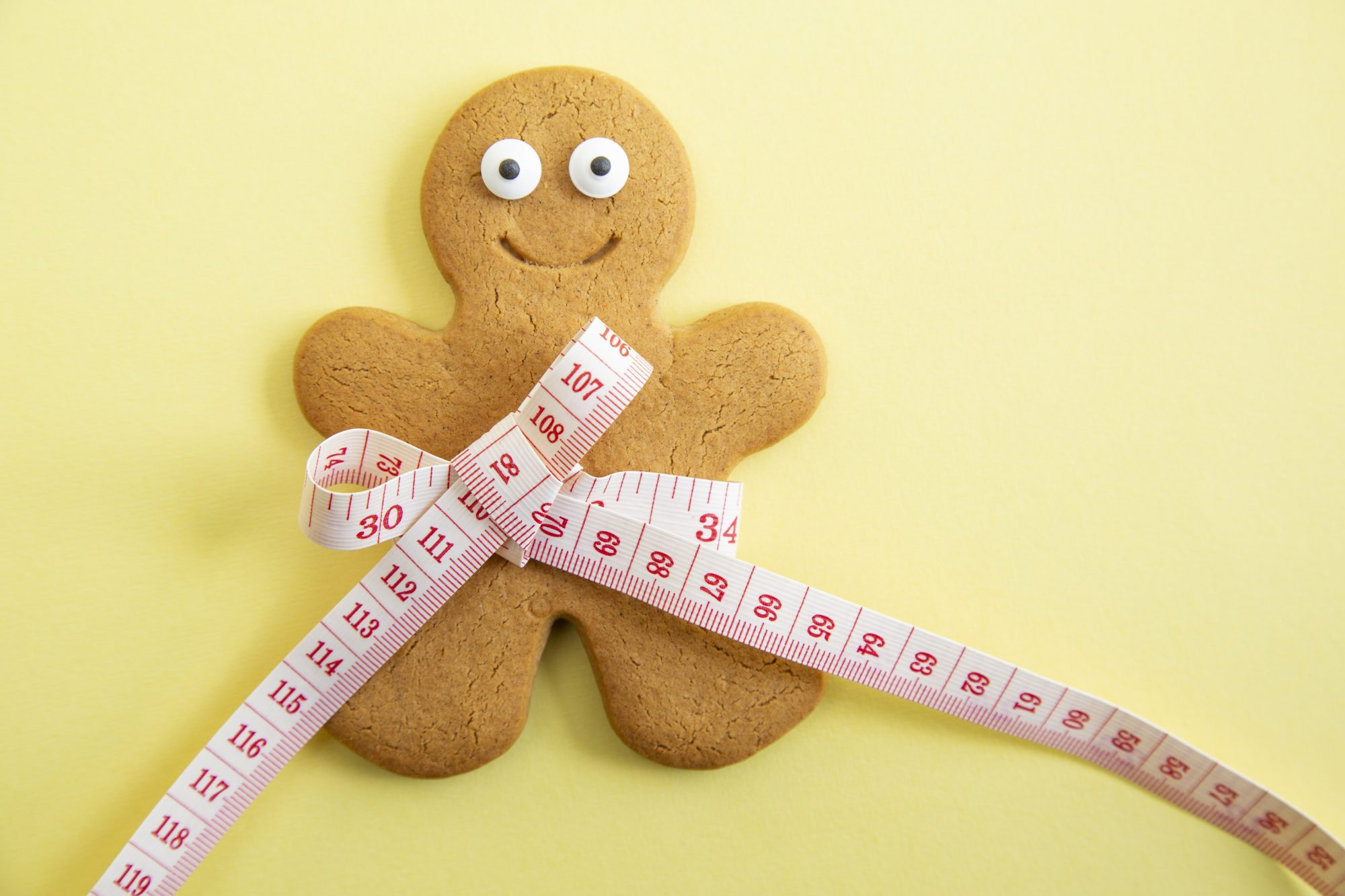 Gingerbread Man with Tape Measurer