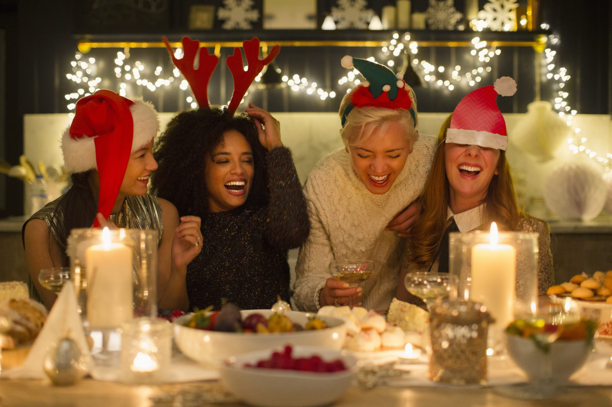 Christmas Laughing Friends