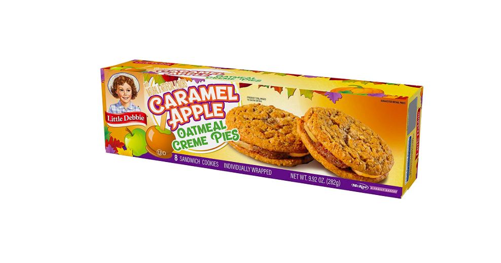 Little Debbie Caramel Apple Oatmeal Creme Pies Are Here