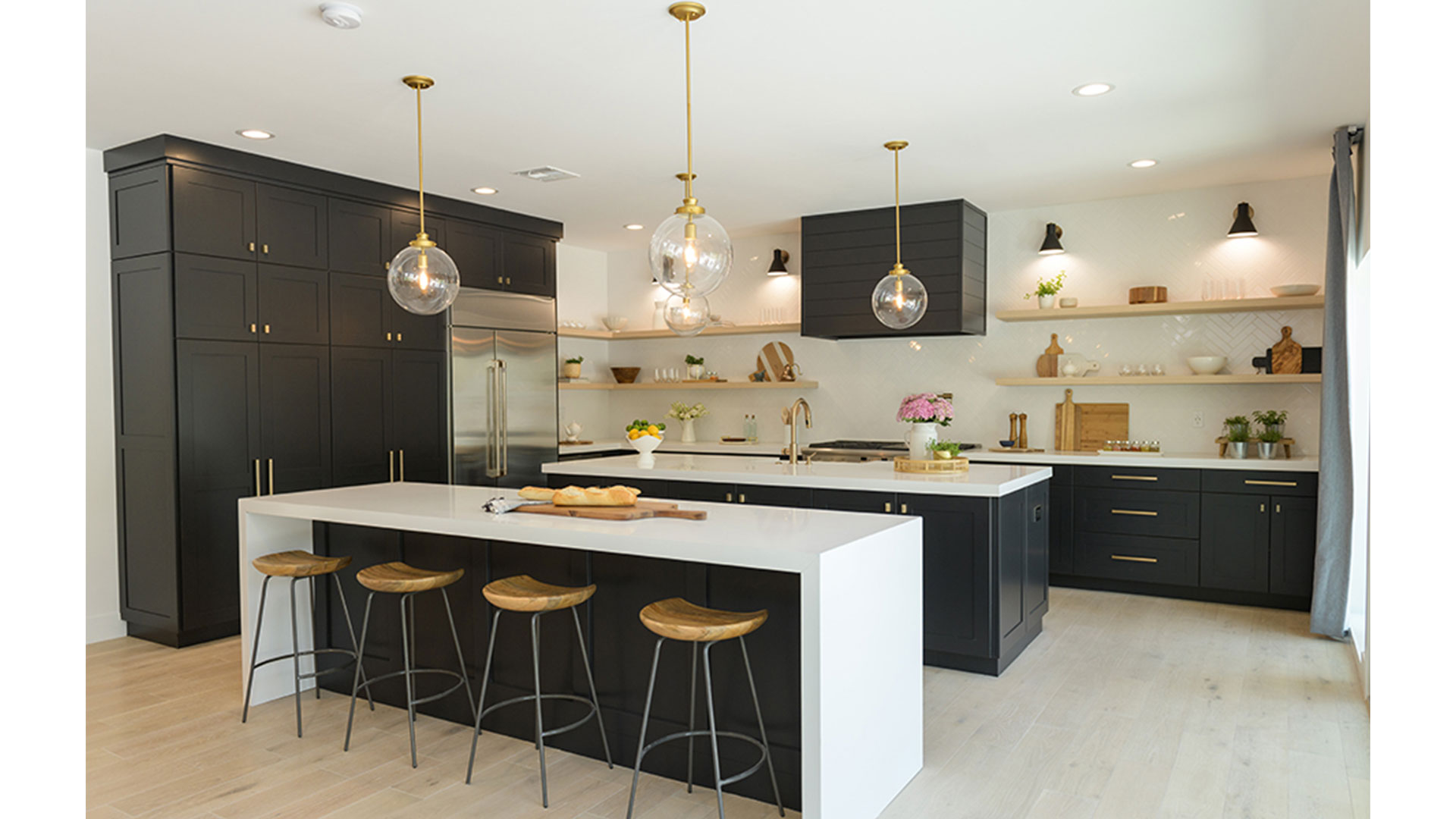 The Property Brothers Pulled off a Kitchen Design with Two Islands
