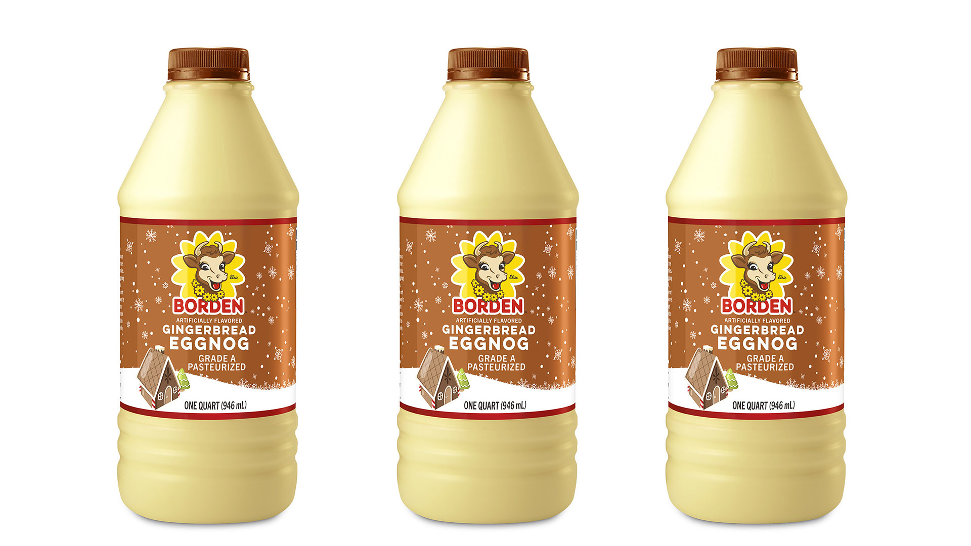 WATCH: Borden's New Gingerbread Eggnog Is Here to Spice up Your Holidays