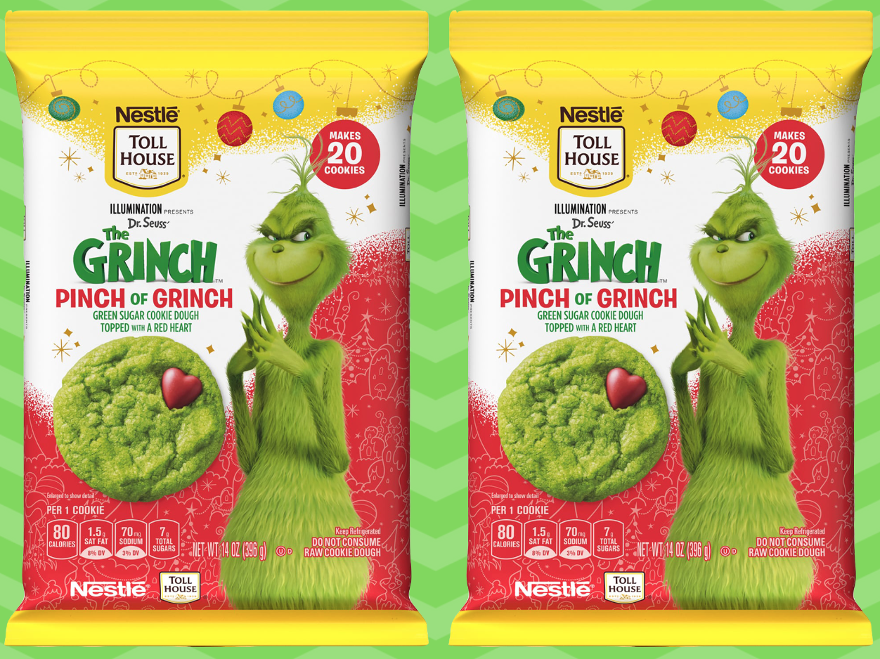 Nestlé's New Grinch Cookies Are the Cutest Things Outside of Whoville
