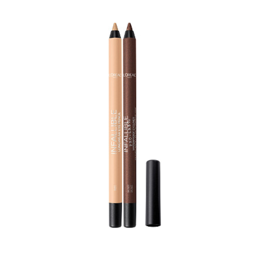 L'Oréal Infallible Pro-Last Waterproof Pencil Eyeliner in Nude and Bronze