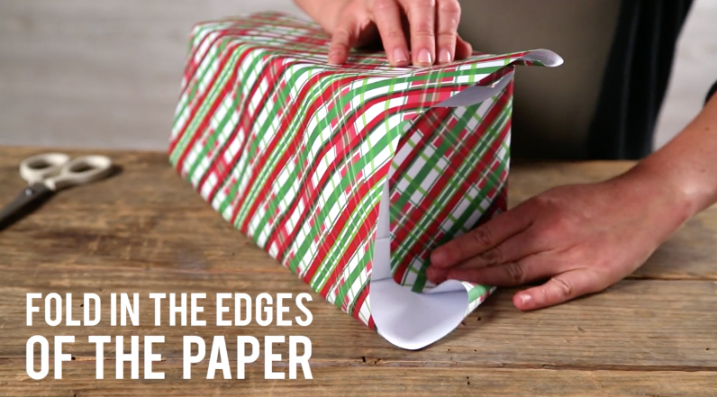 How to Wrap a Present Step 3