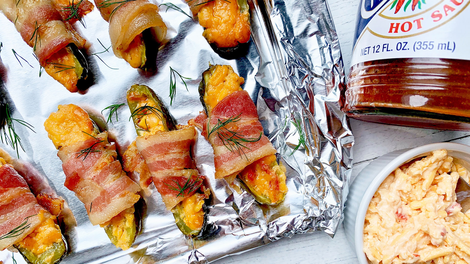 Pimiento Pickle Poppers