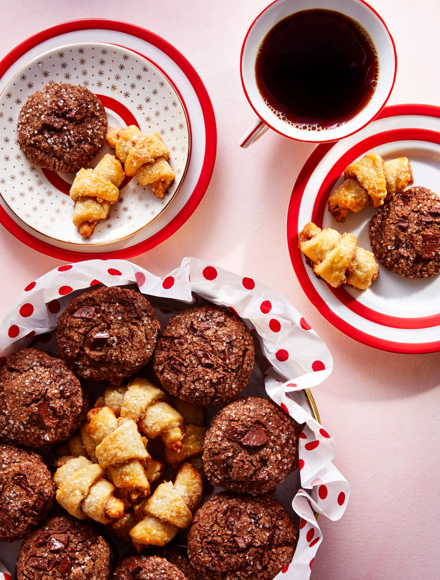 Sugar-and-Spice Rugelach Cookies