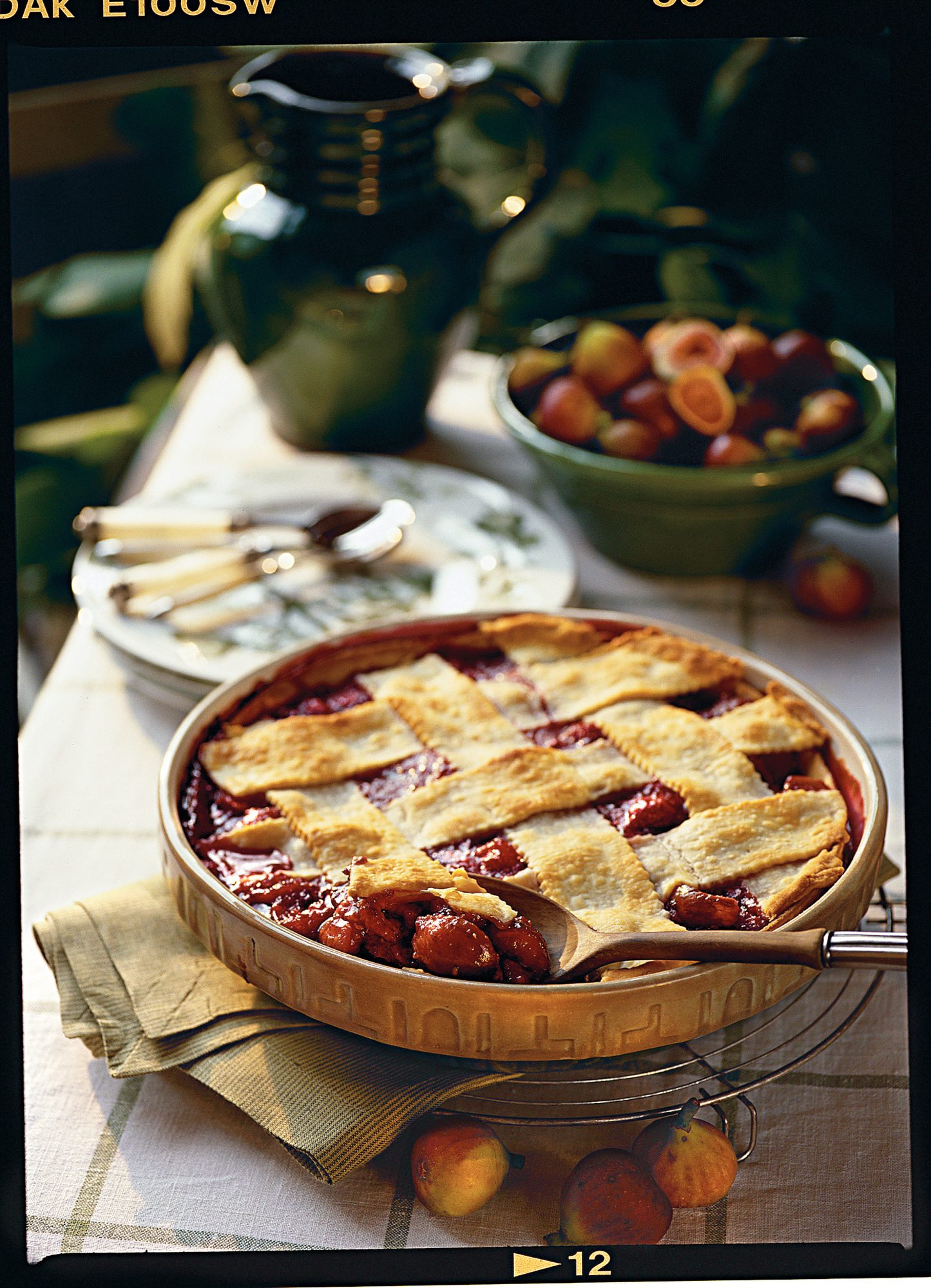 Fig-and-Raspberry Cobbler Recipe