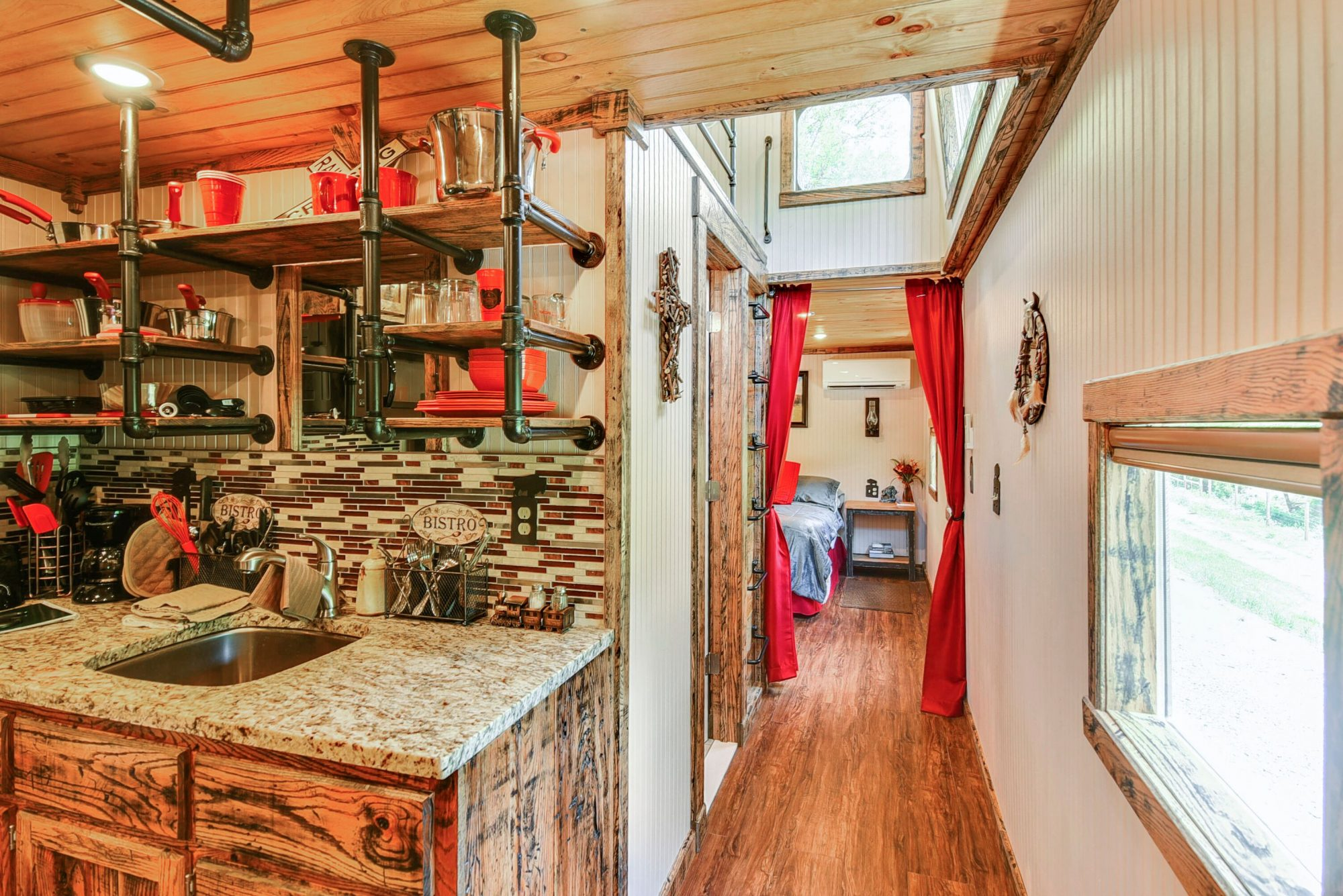 You've Got to Stay in These Train Caboose Vacation Rentals in Clyde, North Carolina