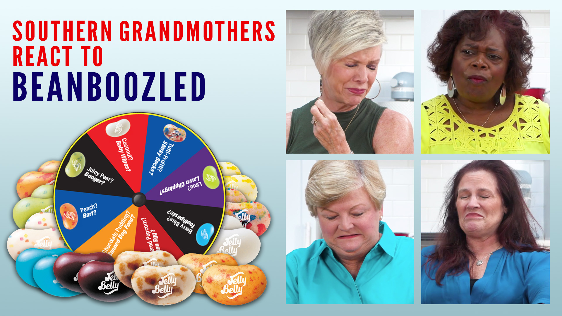 Southern Grandmothers React To Cringe-Worthy Jelly Beans and The Results are Hilarious
