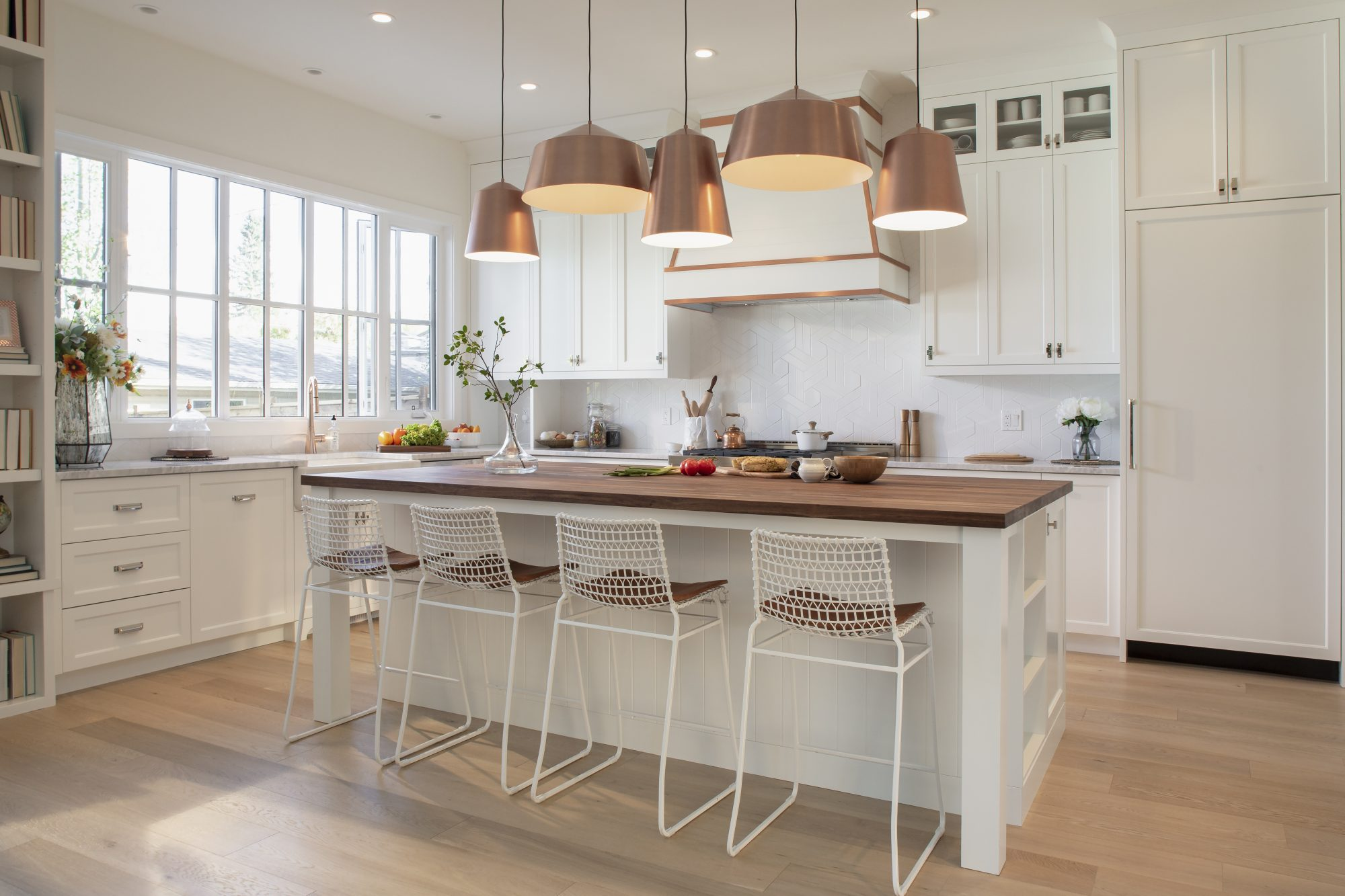 Small Kitchen? The Property Brothers Say the Solution is in Light Flooring