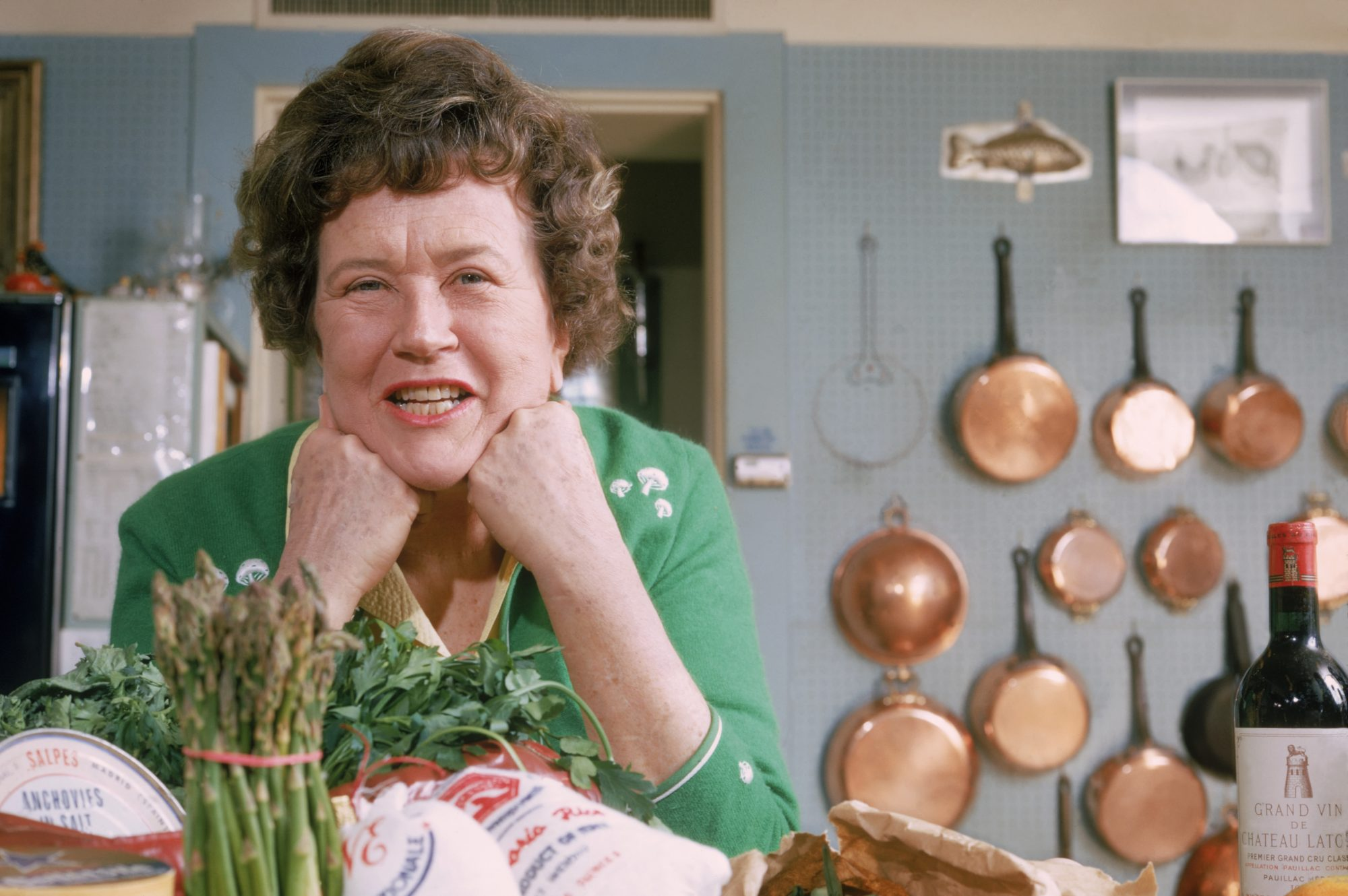 "Julia Child's ""Fluffy"" Pumpkin Pie Recipe Packs a Punch"