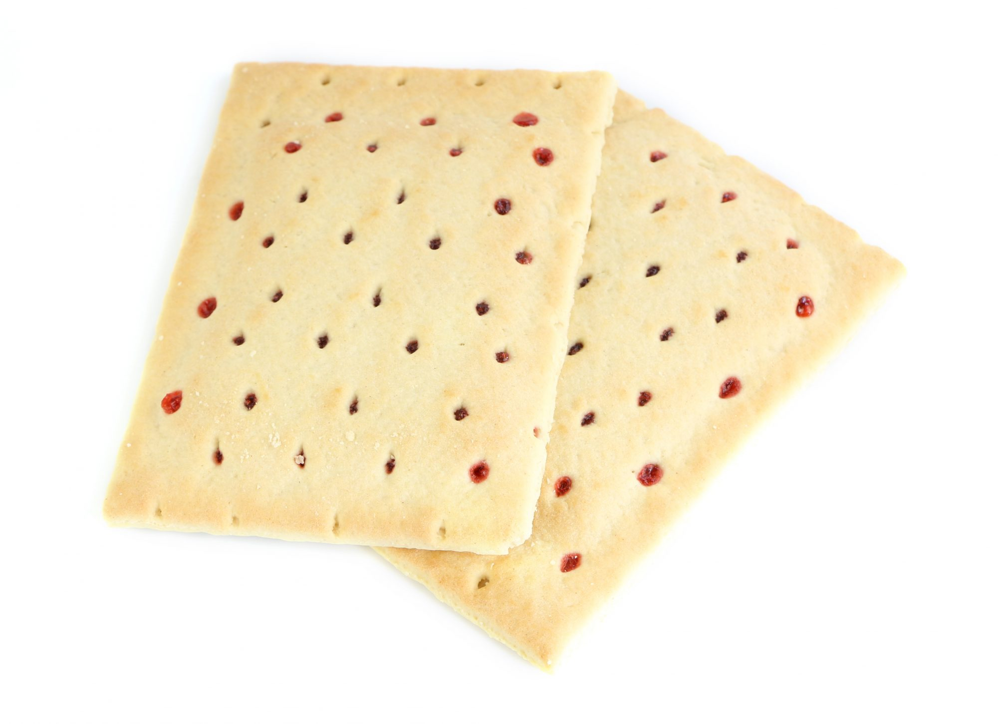 PopTarts on White Background