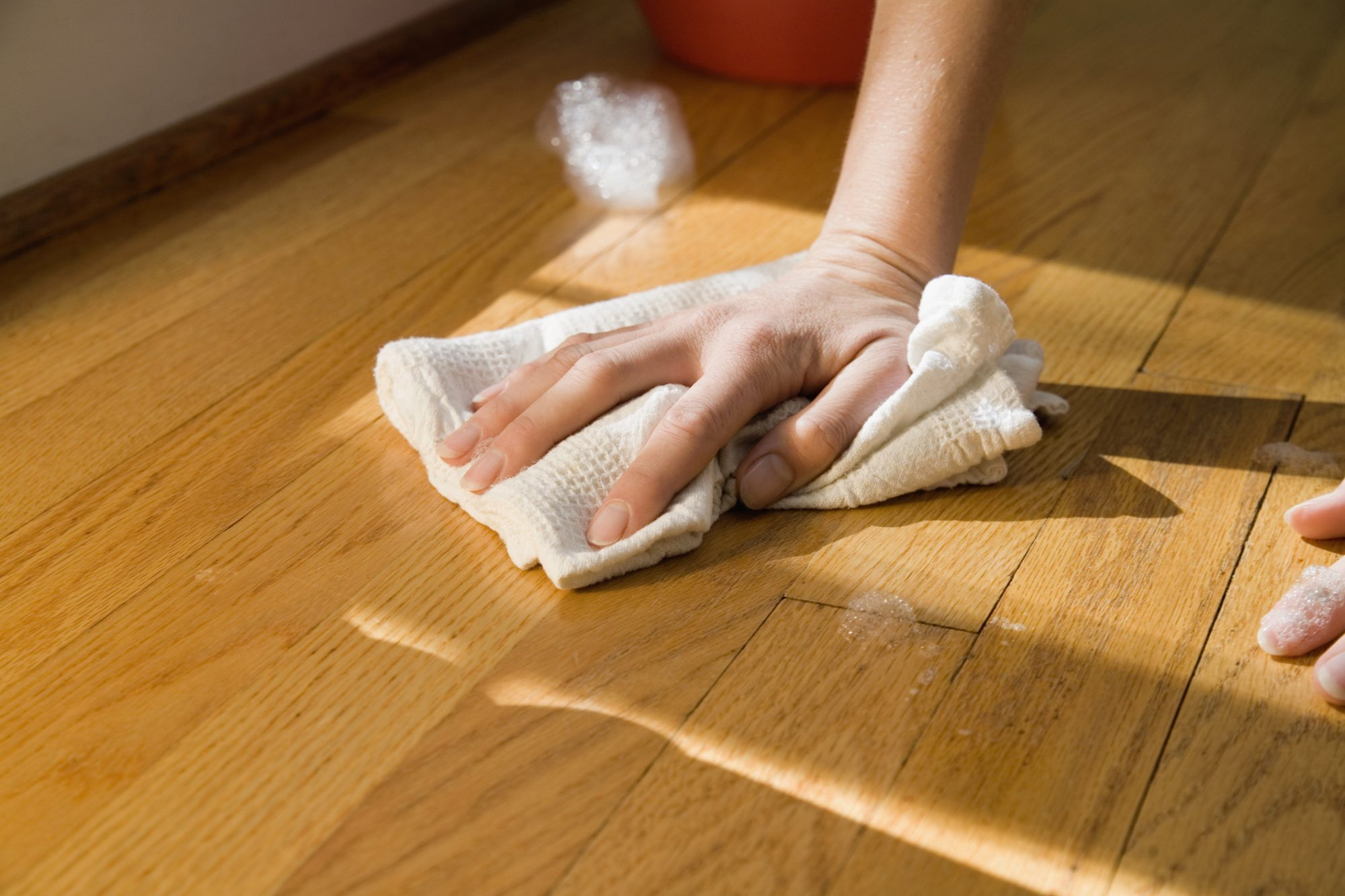 The Right Way To Clean Wood Floors