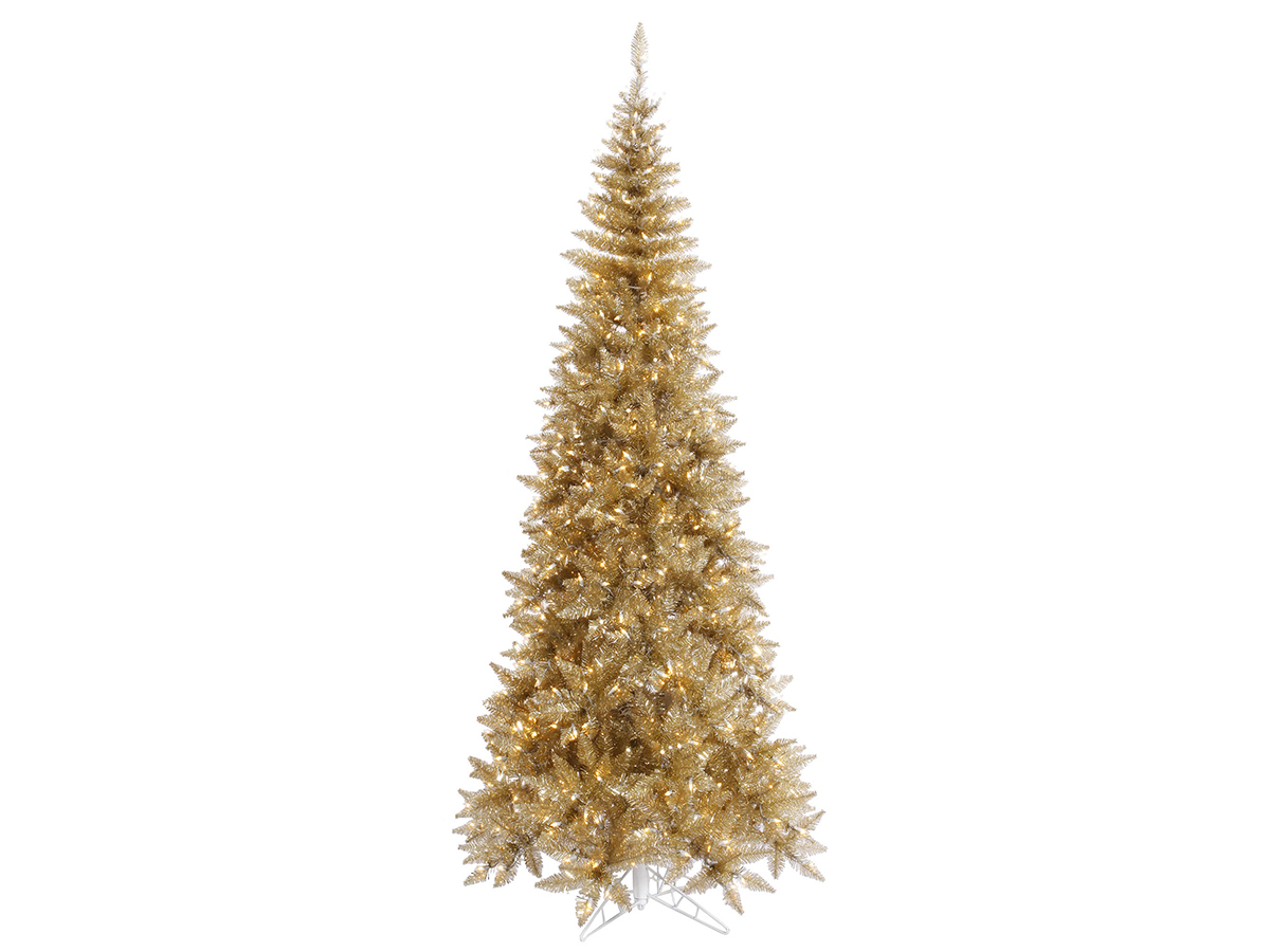 We're Calling It: You'll Be Seeing Gold Christmas Trees Everywhere This Year