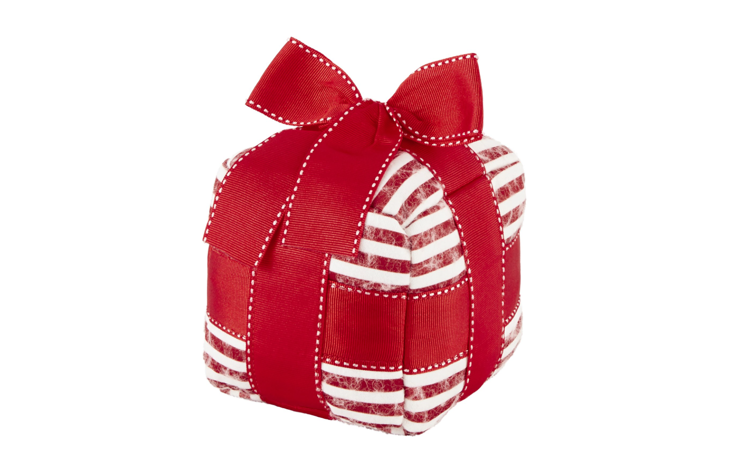 Wrapped Present Dog Toy