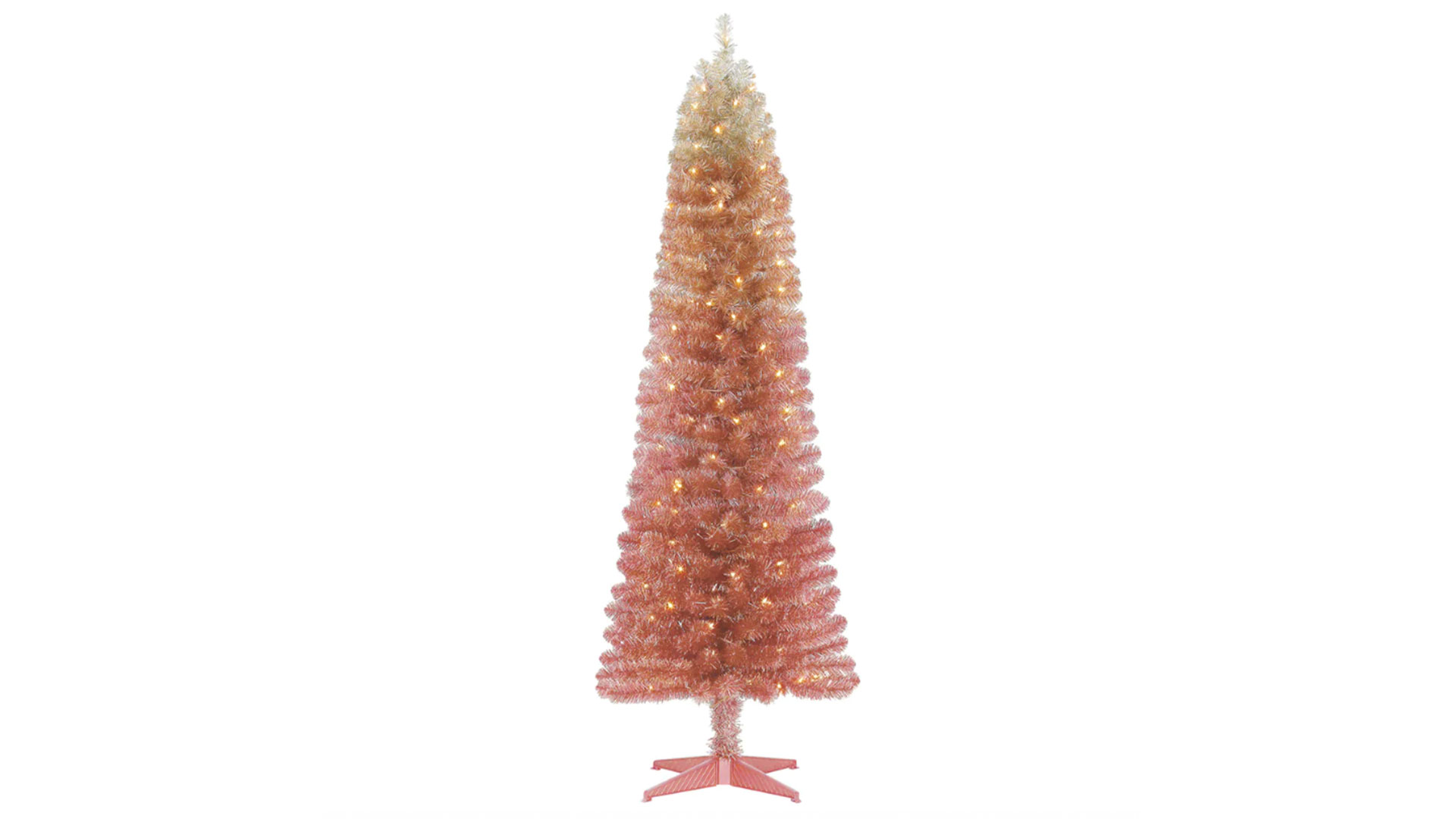 We're Totally Obsessed With This Pink Ombré Christmas Tree from Michaels
