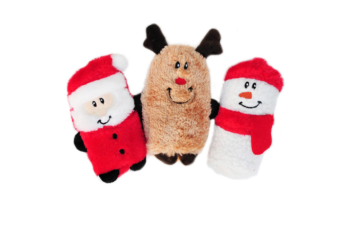 Small Squeaky Christmas Dog Toys