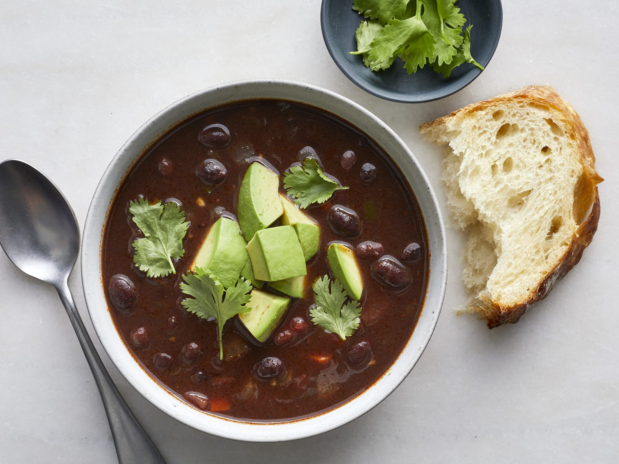 Slow-Cooker Black Bean Soup