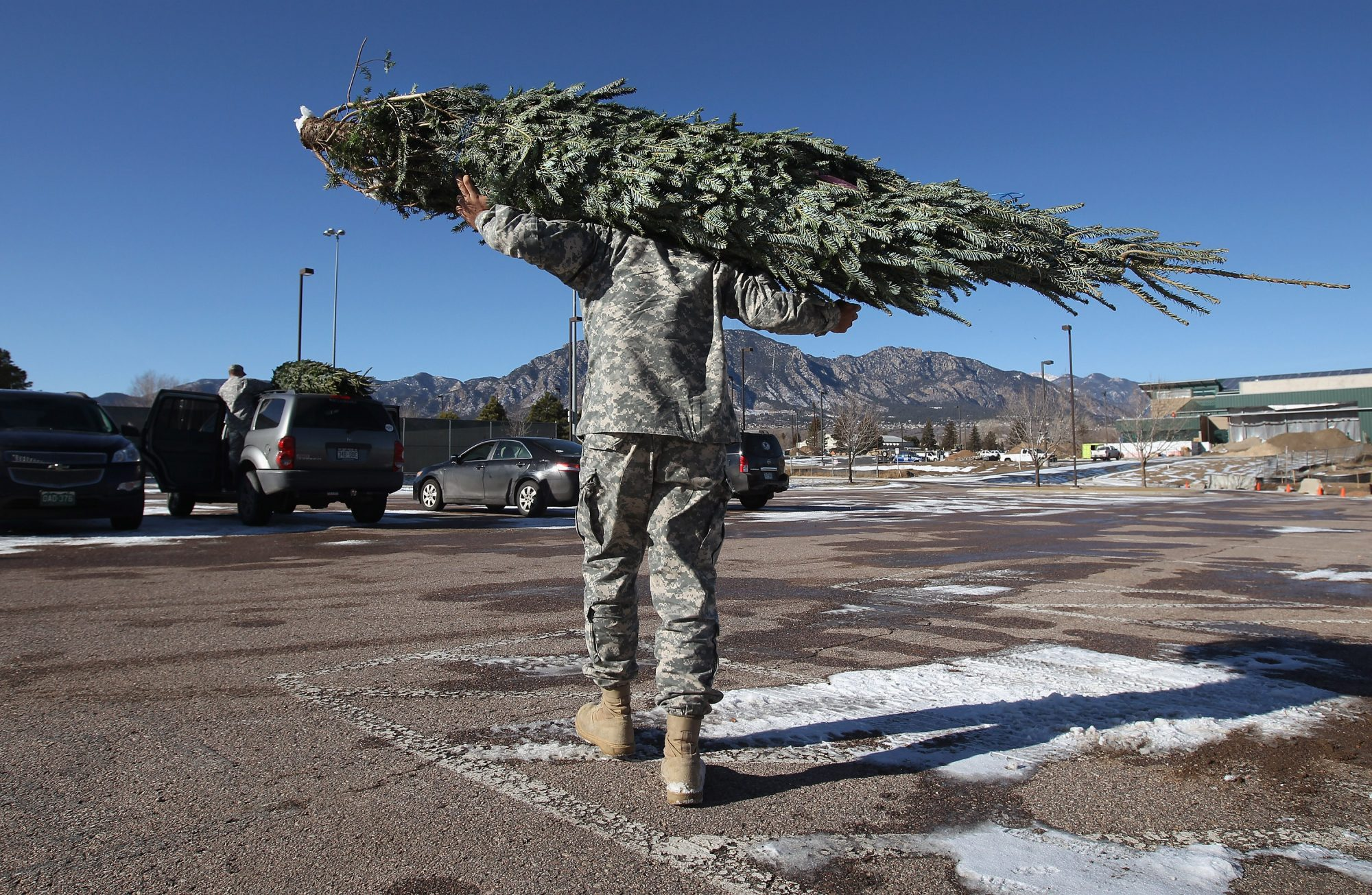 A Tiny Team is Delivering 16,000 Christmas Trees to U.S. Military Families This Holiday Season