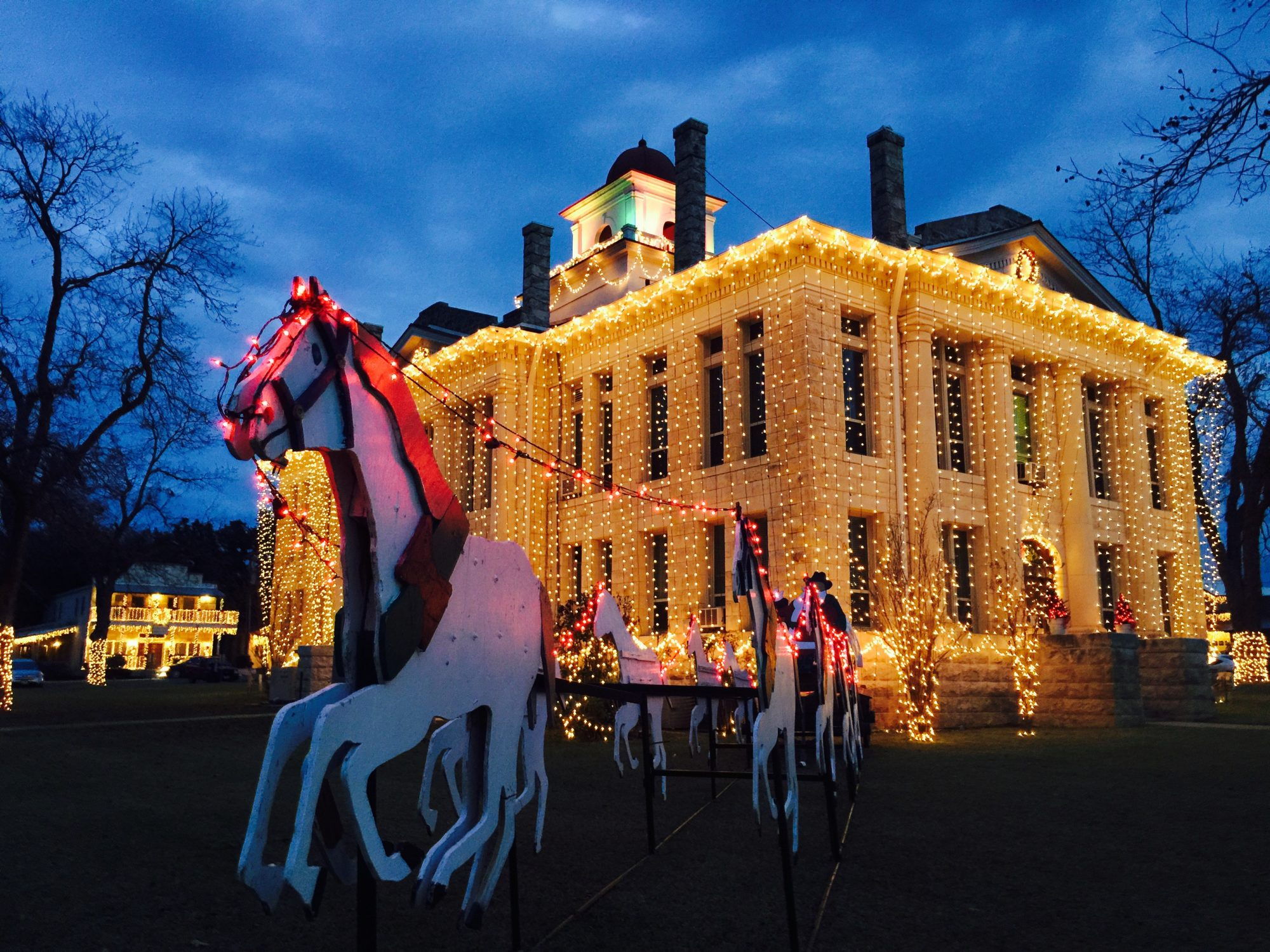 Where to Find Christmas Charm in the Texas Hill Country