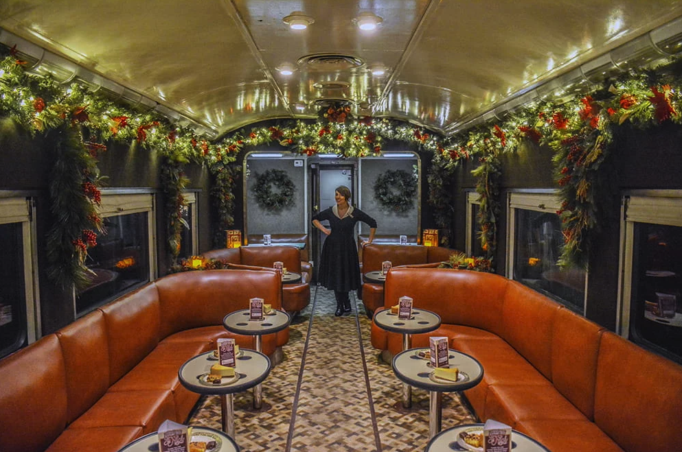Celebrate the Holidays with a Ride Through the Tennessee Mountains on a Vintage Train