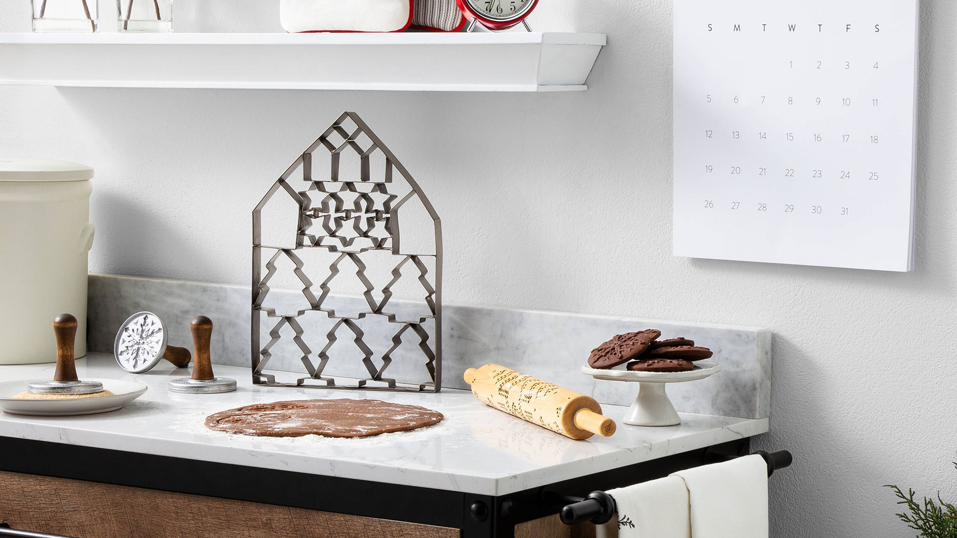 This Giant Cookie Cutter Lets You Make 24 Cookies at Once
