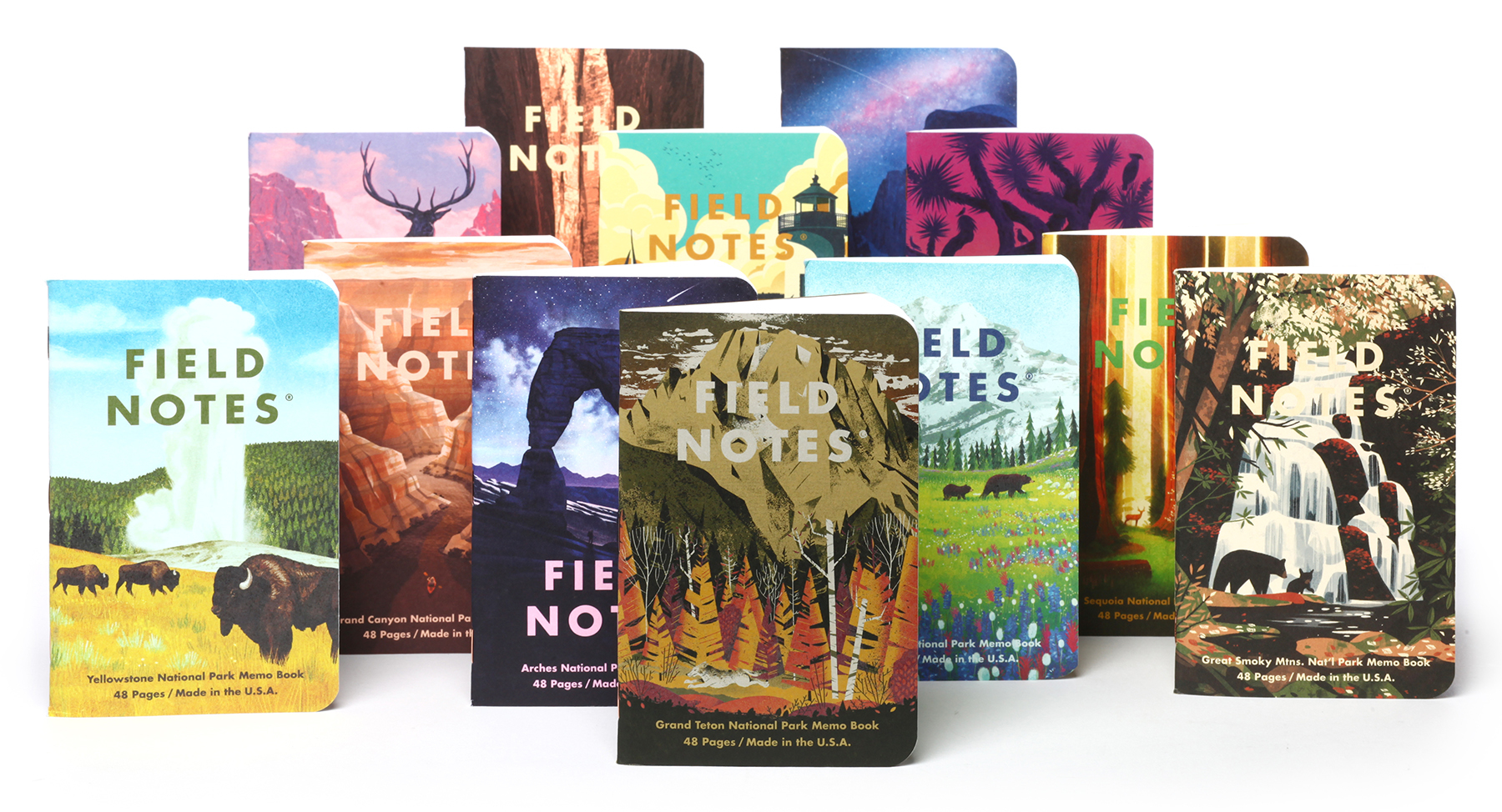 Field Notes National Parks Notebooks