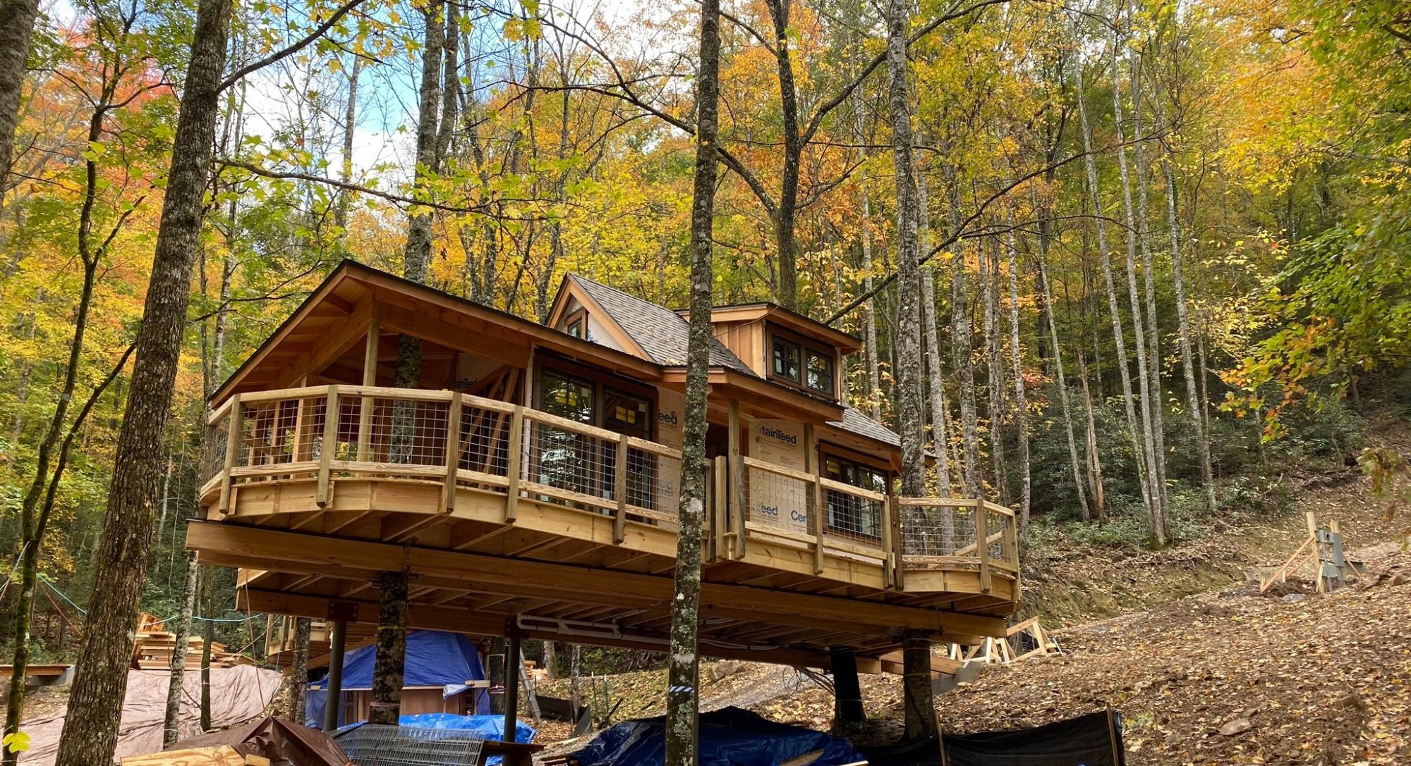 Gatlinburg Is Getting Its Very Own Treehouse Resort Next Year