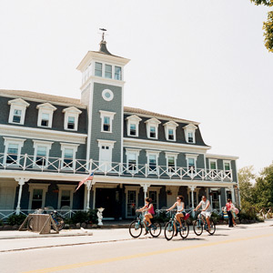 Biking on Block Island