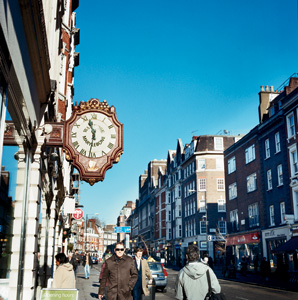 London Neighborhood Walk: Marylebone