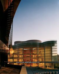 Orange County's Performing Arts Center