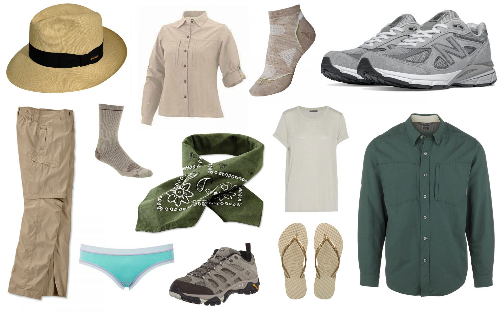 845a17d2b2b74 The Ultimate Safari Packing List  Clothes