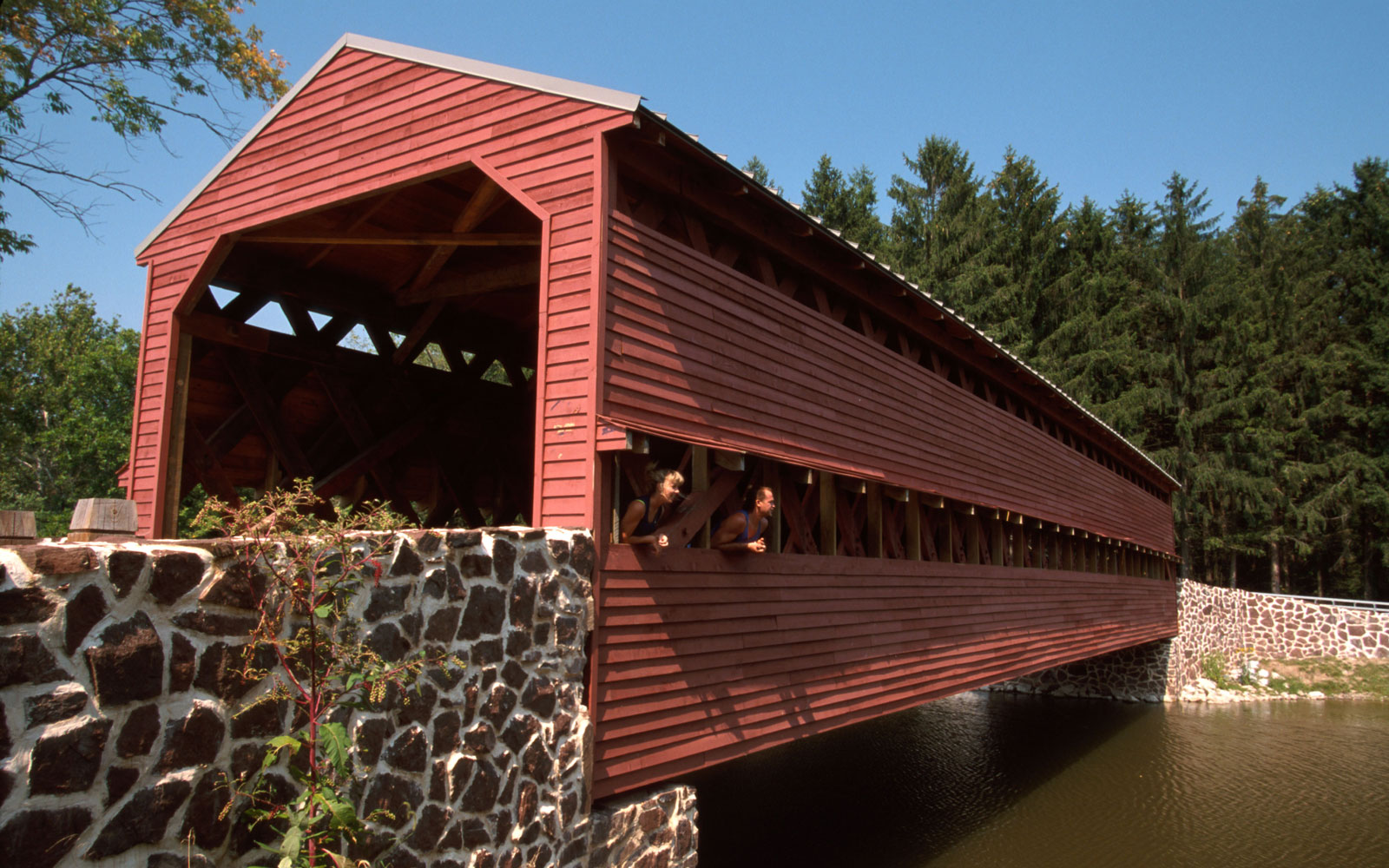 Americas Most Beautiful Covered Bridges Travel Leisure