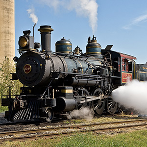 Trains and Water Parks in Grapevine, Texas