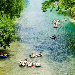 Float the River in New Braunfels, Texas