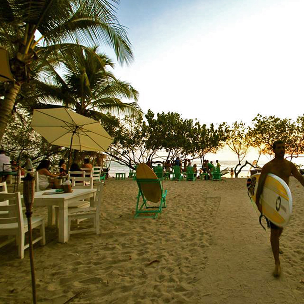 Coolest Beach Bars in Costa Rica