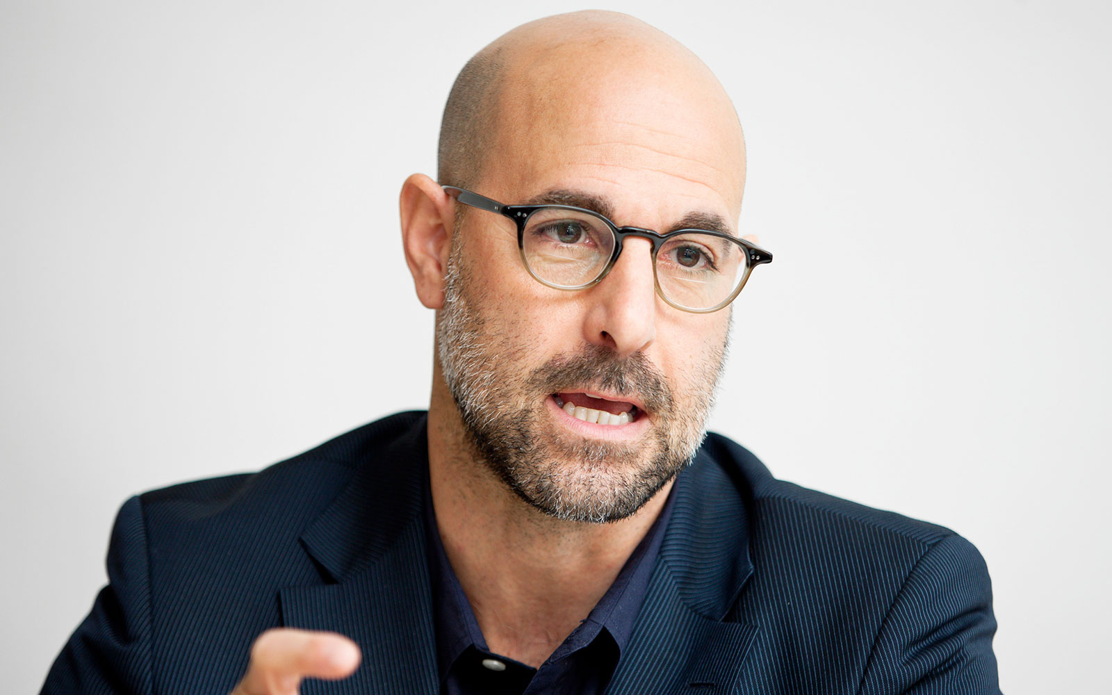 Actor Stanley Tucci Talks Italy, Vodka, and The Hunger Games