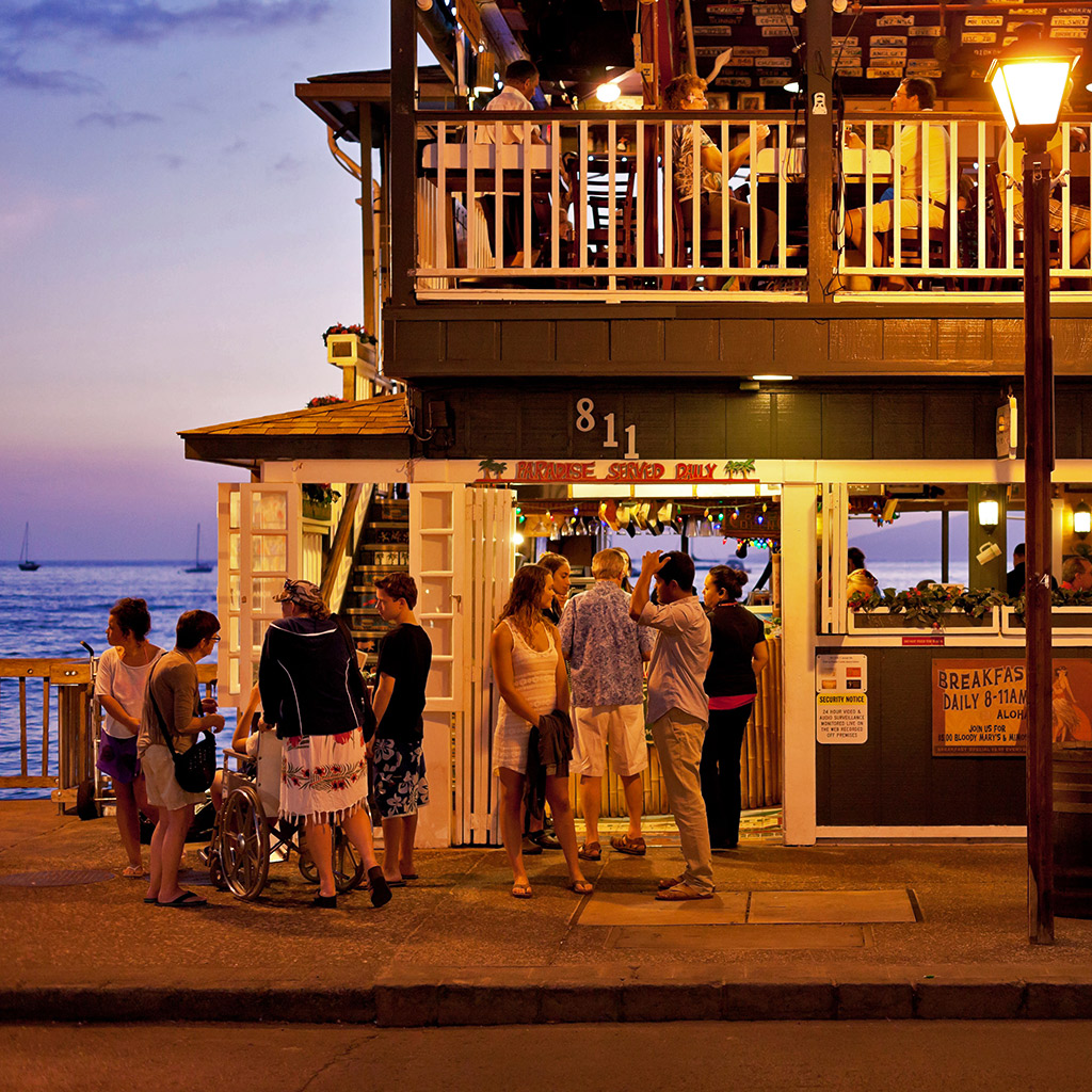 Top 5 Places for Nightlife on Maui