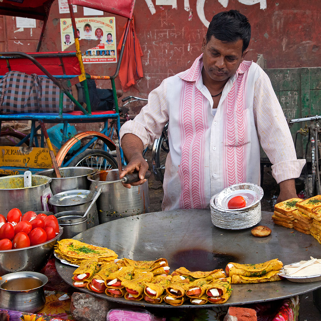 Best Street Food in New Delhi