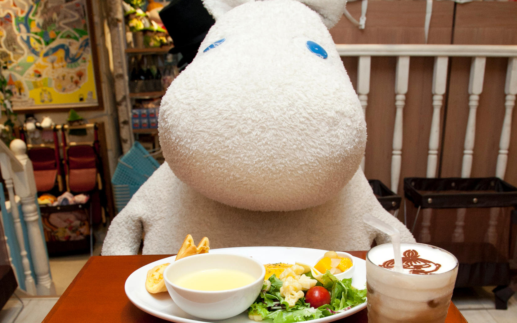 Moomin Mania Pops Up in Hong Kong