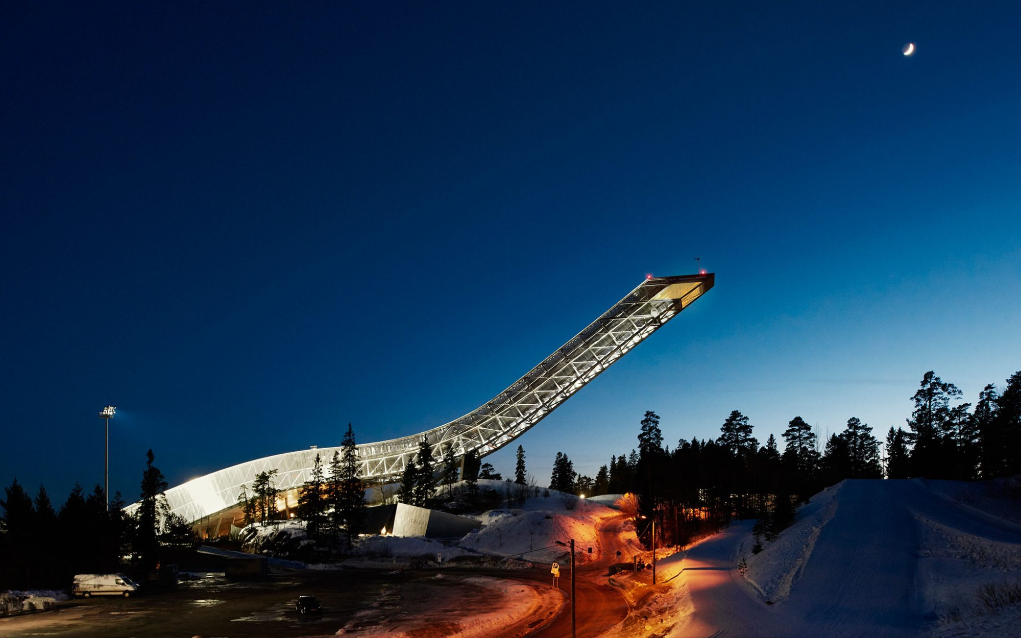 Airbnb is Offering a Stay Atop the 'World's Most Modern Ski Jump'