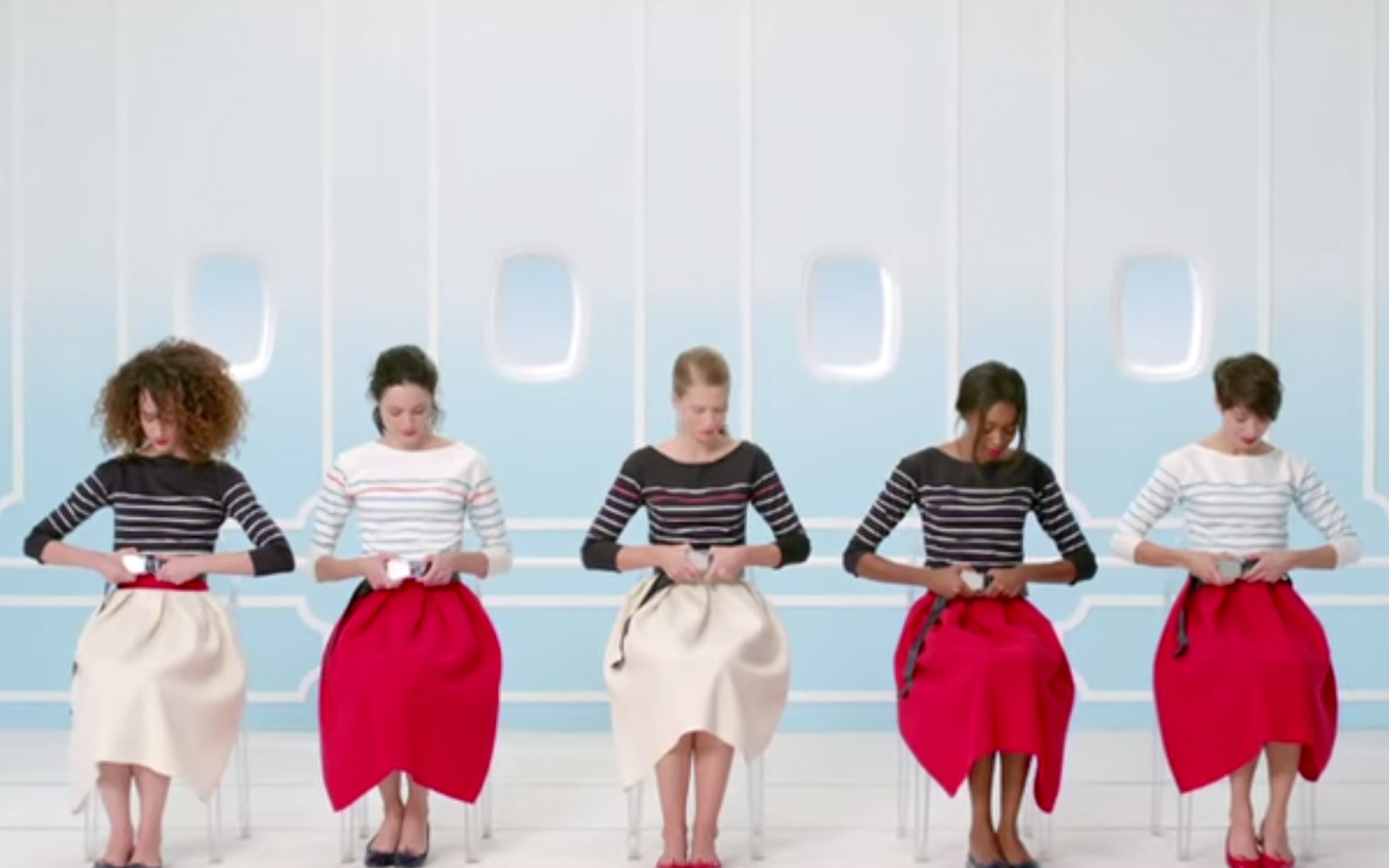 Air France's New Safety Video Features Stereotypical French Women