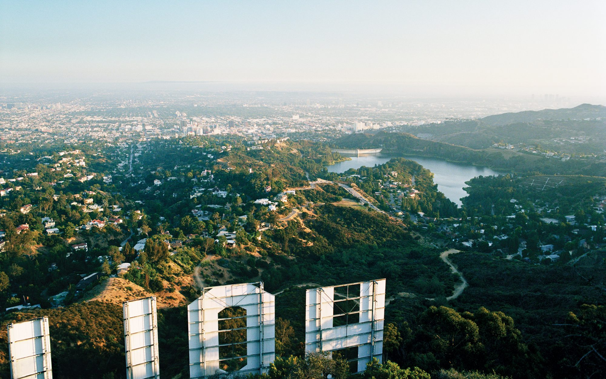 music, city, Los Angeles, Hollywood, view, landscape