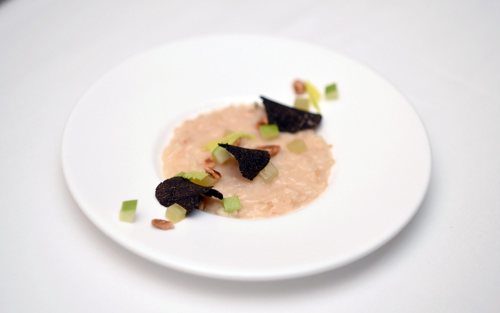 Waldorf-Astoria Announces New Signature Dish: Celery Risotto Alla Waldorf