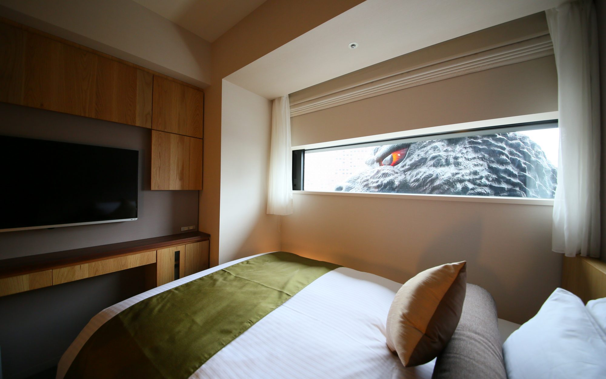 There's Now a Hotel in Tokyo with Godzilla-Themed Rooms