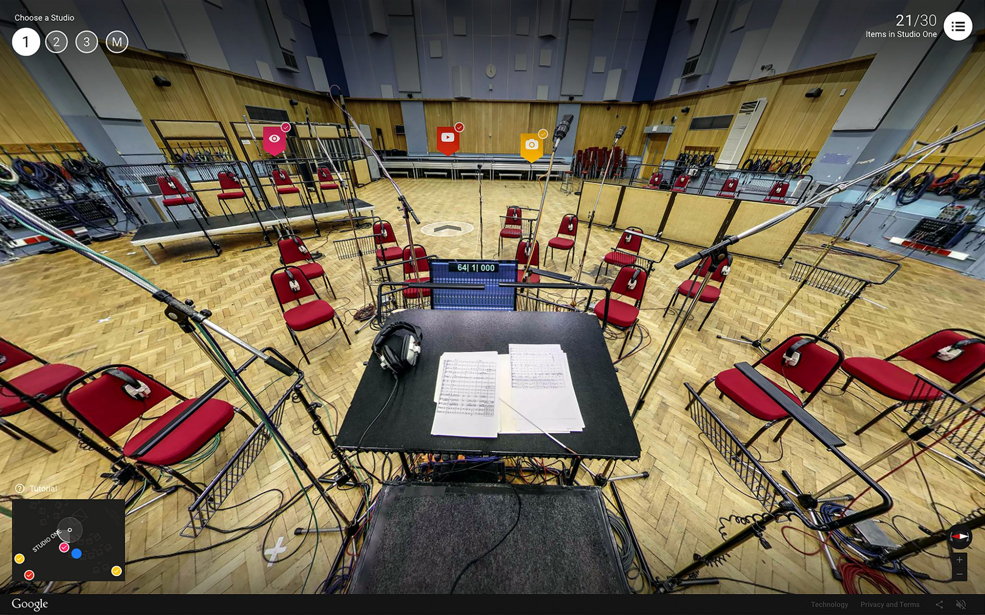 Inside Abbey Road Google